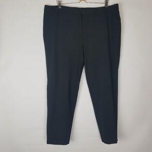 Lands End stretchy ankle length work / dress pants